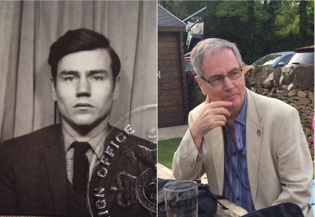 Ken Keable then and now.